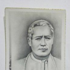 Postales: ESTAMPA RELIGIOSA BEATO PIO X, EDITOR MB. Lote 194596750