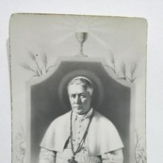 Postales: ESTAMPA RELIGIOSA, BEATO PIO X, PAPA DE LA EUCARISTIA, EDITOR MB, Nº 852. Lote 194596927