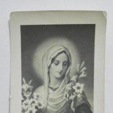 Postales: ESTAMPA RELIGIOSA, VIRGEN PURISIMA, EDITOR BF, Nº 5614. Lote 194602265