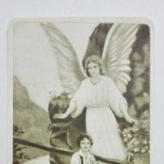 Postales: ESTAMPA RELIGIOSA, EL SANTO ANGEL DE LA GUARDA, EDITOR MB, Nº 2133. Lote 194602413