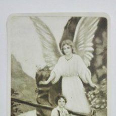 Postales: ESTAMPA RELIGIOSA, EL SANTO ANGEL DE LA GUARDA, EDITOR MB, Nº 2133. Lote 194602458