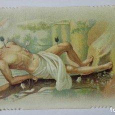 Postales: ESTAMPA RELIGIOSA, SAN SEBASTIAN, EDITOR EB, A-49. Lote 194602866