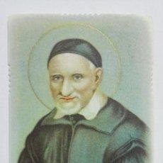 Postales: ESTAMPA RELIGIOSA, SANCTE VINCENTI, EDITOR EB, A-201. Lote 194602967