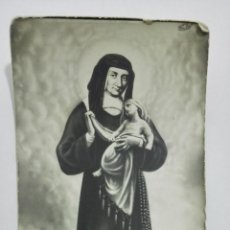 Postais: ESTAMPA RELIGIOSA, SANTA LUISA DE MARILLAC. Lote 194604491