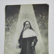 Postais: ESTAMPA RELIGIOSA, SAINTE JEANNE ANTIDA THOURET. Lote 194604595