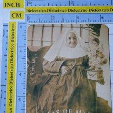 Postales: RECORDATORIO RELIGIOSO SEMANA SANTA. CALENDARIO 1998 MADRE MATILDE HIJAS DE MARIA 12. Lote 194636370