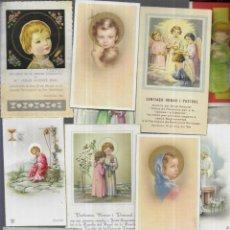 Postales: 100 RECORDATORIOS COMUNION AÑOS 60 ( LOTE 12). Lote 194726736
