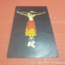 Postales: ESTAMPAS.....ESTAMPA DEL SANTO CRISTO DE BURGOS........ Lote 194768996
