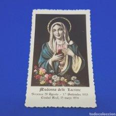 Postales: (ER.01) CROMO O ESTAMPA RELIGIOSA.. Lote 194834641