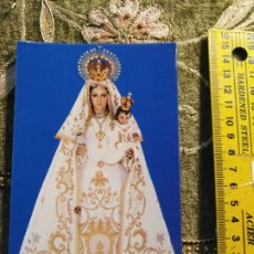 Postales: - TARJETA TAMAÑO POSTAL RELIGIOSA SEMANA SANTA DE TOLEDO VIRGEN PATRONA DEL PUETE DEL ARZOBISPO. Lote 194887982