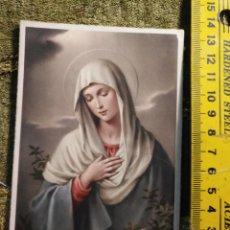 Postales: ANTIGUA TARJETA POSTAL RELIGIOSA - VIRGEN AÑOS 40S S/IRIS. Lote 194896065