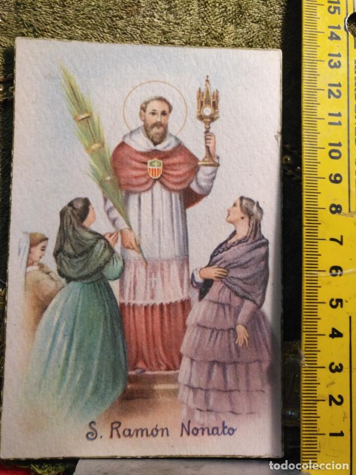 ANTIGUA TARJETA POSTAL RELIGIOSA - SAN RAMON NONATO (Postales - Postales Temáticas - Religiosas y Recordatorios)