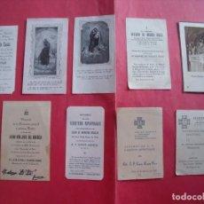 Postales: JAEN.-ESTAMPAS RELIGIOSAS.-CANDIDO CATALAN.-JESUS DEL CONSUELO.-JORGE ARDOIZ.-AÑOS 1919 HASTA 1958.. Lote 194949365