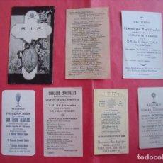 Postales: UBEDA.-ESTAMPAS RELIGIOSAS.-VIRGEN DE GUADALUPE.-EJERCICIOS ESPIRITUALES.-PEDRO ALVARADO.-1921-1945.. Lote 194949597