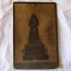 Postales: ANTIGUA ESTAMPA SOBRE CARTÓN CRISTO DE MEDINACELI. Lote 194964697