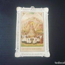 Postales: NUESTRA SEÑORA DE MONTSERRAT. Lote 194986848