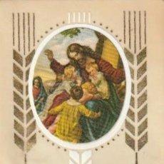 Postales: ESTAMPA DE PLASTICO Y PAPEL PRIMERA COMUNION NAVAHERMOSA SALAMANCA 1979 - -C-36. Lote 195031876