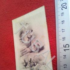 Postales: TUBAL SEVILLA PARROQUIA DE SANTA CRUZ 1944 ESTAMPA RECORDATORIO ORDENACION B49. Lote 195164137