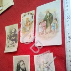 Postales: TUBAL LOTAZO 5 ESTAMPAS RECORDATORIOS 100% ORIGINALES B49. Lote 195164855