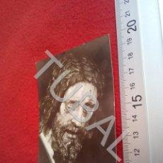 Postales: TUBAL JESUS DE LA PASION FOTO FERNAND SEVILLA ESTAMPA RECORDATORIO B49. Lote 195165601