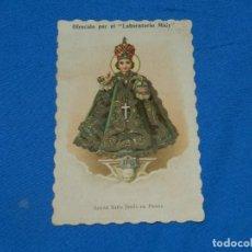 Postales: (M) ESTAMPA ANTIGUA SANTO NIÑO JESÚS DE PRAGA , 13,5X8,5 CM, SEÑALES DE USO. Lote 195172207