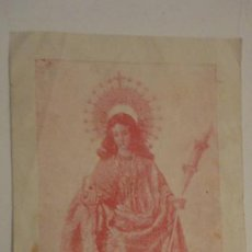 Postales: RECUERDO IMPOSICION AUREOLA.VIRGEN SANTA EULALIA.JOSE Mª ALCARAZ Y ALENDA.MERIDA 1953. Lote 195178877