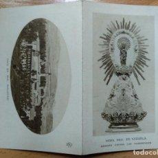 Postales: NTRA. SRA. DE VERUELA. TARAZONA, ZARAGOZA. MONASTERIO. NOVENA. Lote 195194822