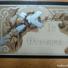 Postales: IN MEMORIAM, QUINTANA REDONDA, SORIA.. AÑO 1910. Lote 195195071