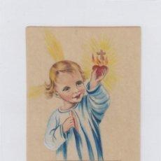 Postales: RECORDATORIA RELIGIOSA. NADA IMPRESO EN EL REVERSO.. Lote 195231256