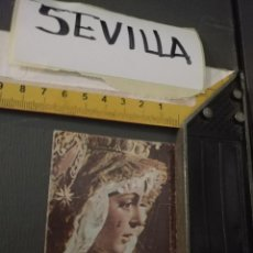 Postales: HAGA SU OFERTA ESTAMPA RELIGIOSA DE LA SEMANA SANTA DE SEVILLA VIRGEN. Lote 195234547