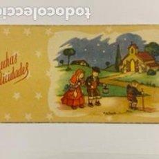 Postales: FELICITACIÓN NAVIDEÑA. 13 X 6.. Lote 195240060