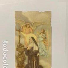 Postales: ESTAMPA RELIGIOSA TROQUELADA EN LOS BORDES. 10,5 X 5,3 CM. Lote 195240273