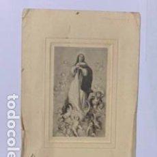 Postales: ESTAMPA RELIGIOSA LA ASCENCIÓN DE LA VIRGEN 1924. 12 X 7,50. Lote 195240523