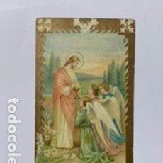 Postales: RECUERDO PRIMERA COMUNIÓN IGLESIA DE S. PEDRO CLAVER. AÑO 1923.. Lote 195240632