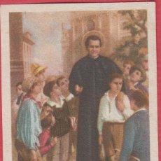 Postales: ESTAMPA RELIGIOSA A COLOR SAN JUAN BOSCO EST.3792. Lote 195255716