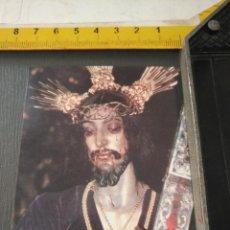 Postales: HAGA SU OFERTA ESTAMPA RELIGIOSA DE LA SEMANA SANTA CADIZ CAPITAL - CRISTO . Lote 195276206