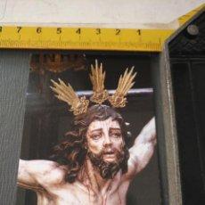 Postales: HAGA SU OFERTA ESTAMPA RELIGIOSA DE LA SEMANA SANTA CADIZ CAPITAL - CRISTO . Lote 195276268