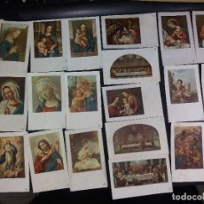 Postales: 40 ESTAMPAS ANTIGUAS EN COLOR -TAMAÑO 10,50 X 6,50 ( LOTE 8) . Lote 195298001