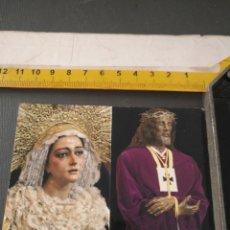 Postales: HAGA SU OFERTA ESTAMPA RELIGIOSA DE LA SEMANA SANTA CADIZ CAPITAL - CRISTO O VIRGEN. Lote 195312688