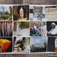 Postales: POSTALES DE LOURDES. Lote 195331398