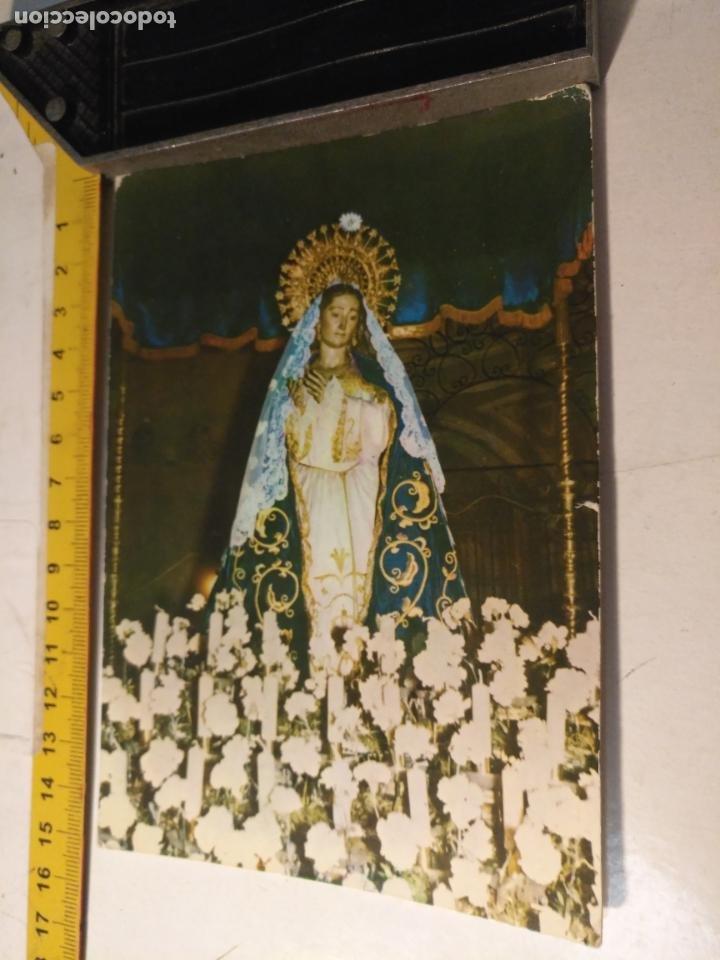 HAGA SU OFERTA POSTA SEMANA SANTA VIRGEN DEL AMOR HERMOSO CARTAGENA , FOTOCOLOR VALMAN (Postales - Postales Temáticas - Religiosas y Recordatorios)