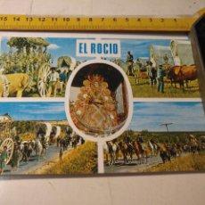 Postales: HAGA SU OFERTA POSTA SEMANA SANTA VIRGEN DEL ROCIO ALMONTE HUELVA BEASCOA 1974. Lote 195432111