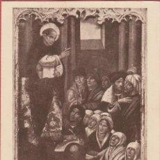 Postales: ESTAMPA RELIGIOSA SAN VICENTE FERRER PREDICANDO EST.3802. Lote 195448573