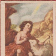 Postales: ESTAMPA RELIGIOSA A COLOR CON BORDES DORADOS SAN JUAN EST.3804. Lote 195449305