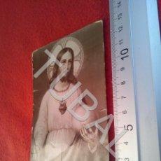 Postales: TUBAL SAGRADO CORAZON DE JESUS ANTIGUA POSTAL ESTAMPA RECORDATORIO B37. Lote 195473838