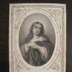 Postales: PURISIMA CONCEPCION-ESTAMPA ANTIGUA PUNTILLA-VER FOTOS-(V-19.222). Lote 195494378