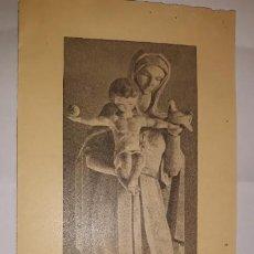 Postales: DÍPTICO ORDENACIÓN SACERDOTE JOSÉ MANUEL ARENAL CAMON COFRADÍA SIETE PALABRAS ZARAGOZA MEDICUS MUNDI. Lote 195546250