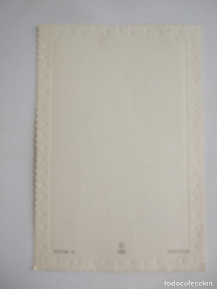Postales: ESTAMPA RECORDATORIO COMUNION - SEVILLA 1989 - CYZ 5757/56-B - ILUSTRADO POR PERALTA - Foto 2 - 195624678