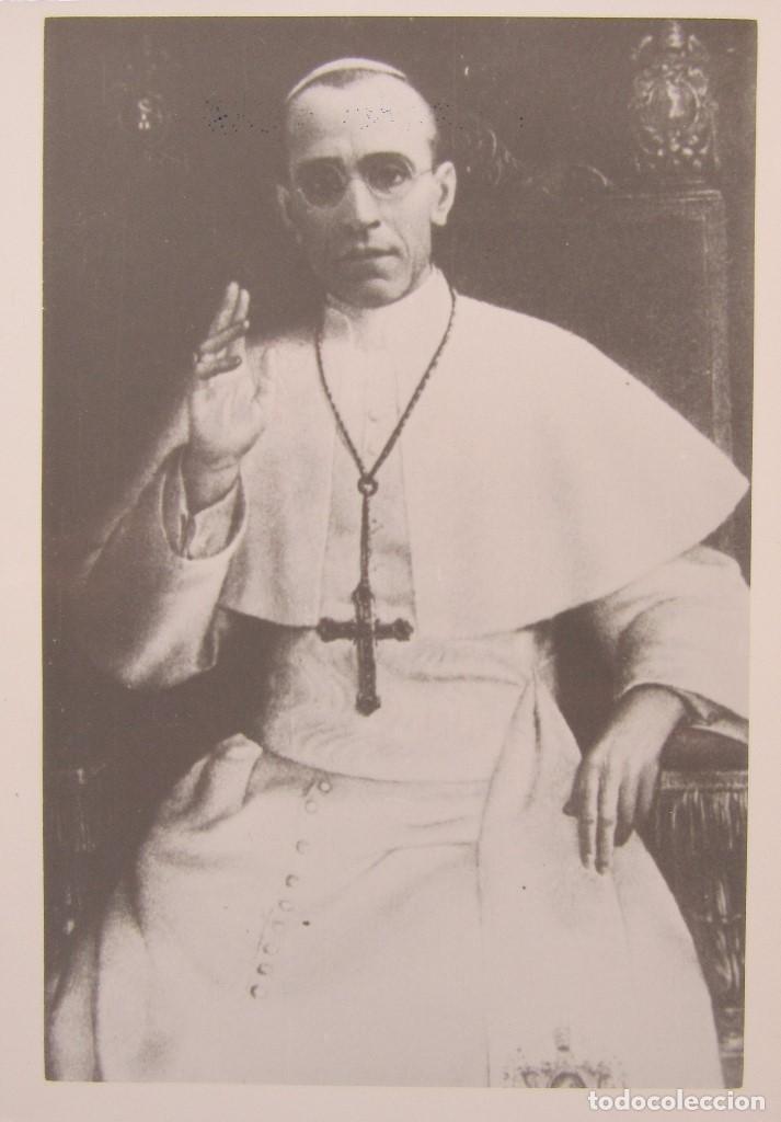 Postales: LOTE 10 POSTALES DE DIVERSOS PAPAS EN LA HISTORIA - Foto 2 - 196019318