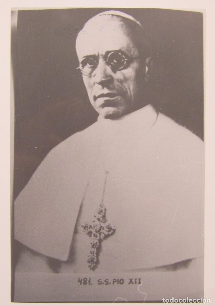 Postales: LOTE 10 POSTALES DE DIVERSOS PAPAS EN LA HISTORIA - Foto 3 - 196019318
